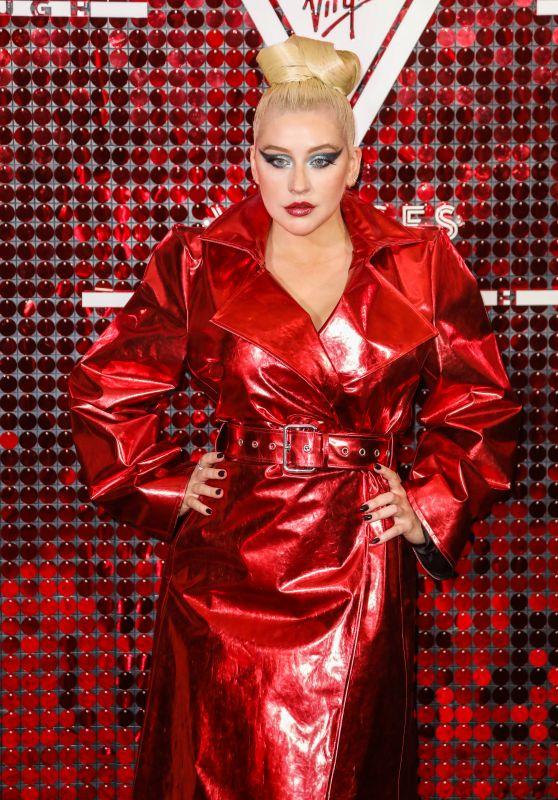 Christina Aguilera - Virgin Voyages x Gareth Pugh Event in London 09/15/2019