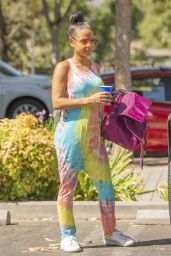 Christina Milian - Shopping at the Farmers Market in LA 09/14/2019