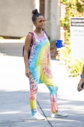 Christina Milian - Shopping at the Farmers Market in LA 09/14/2019