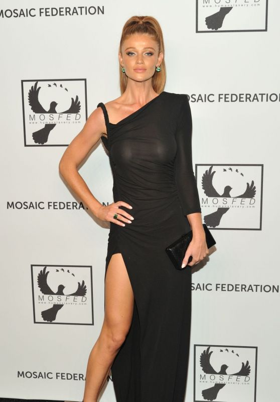 Cintia Dicker - Mosaic Federation Gala Against Human Slavery in New York 09/10/2019