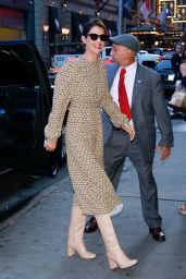 Cobie Smulders - Arriving at GMA in NYC 09/23/2019