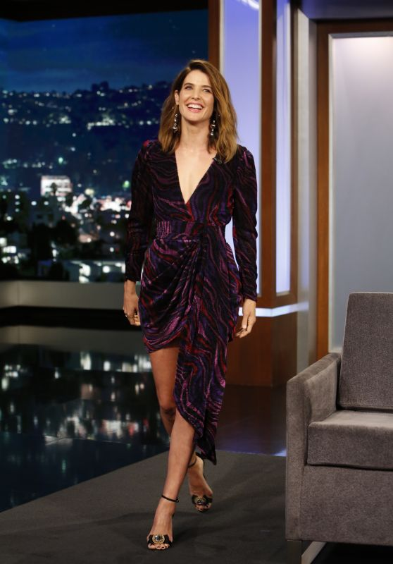 Cobie Smulders - Jimmy Kimmel Live! in Los Angeles 09/25/2019