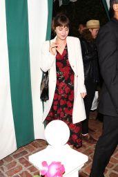 Dakota Johnson - Arrives for Her Sister Stella Banderas