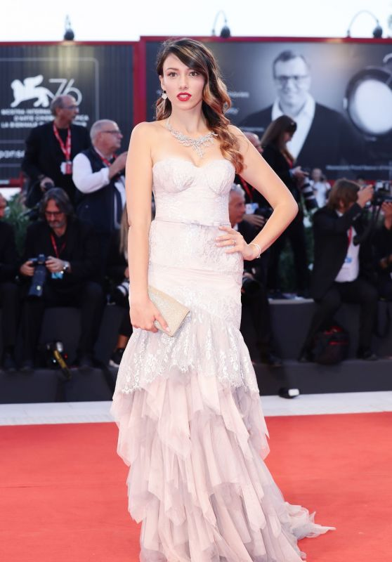 "Delphine Wespiser - ""About Endlessness"" Premiere at the 76th Venice Film Festival"