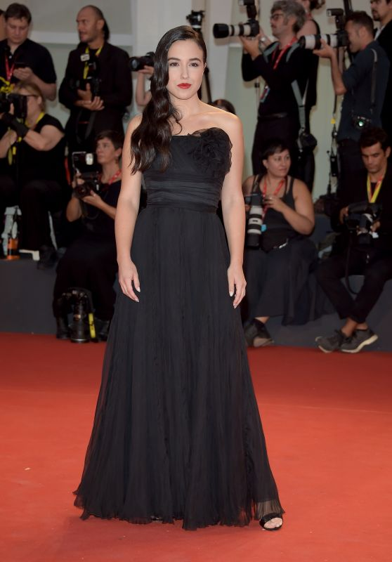 "Denise Sardisco – ""Martin Eden"" Screening at the 76th Venice Film Festival"