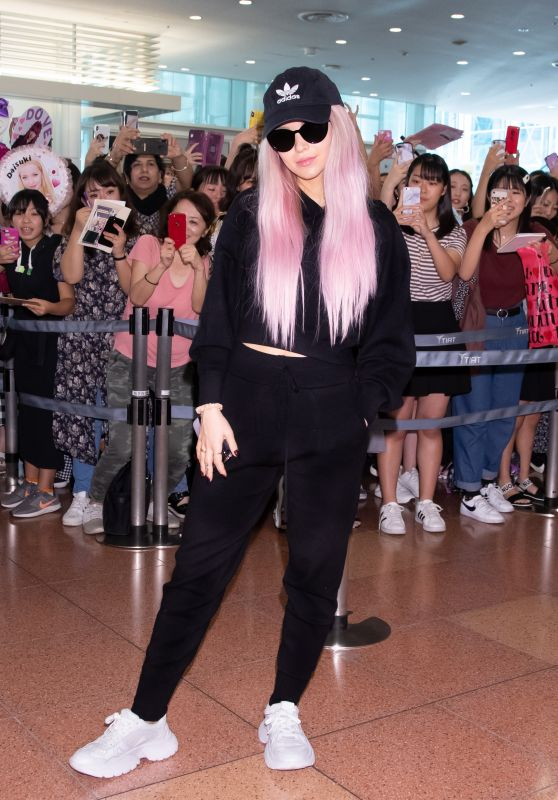 Dove Cameron in Travel Outfit - Tokyo International Airport 09/08/2019