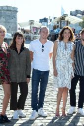 Eden Ducourant – La Rochelle TV Fiction Festival Photocall 09/13/2019