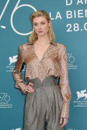 "Elizabeth Debicki - ""The Burnt Orange Heresy"" Photocall at the 76th Venice Film Festival"