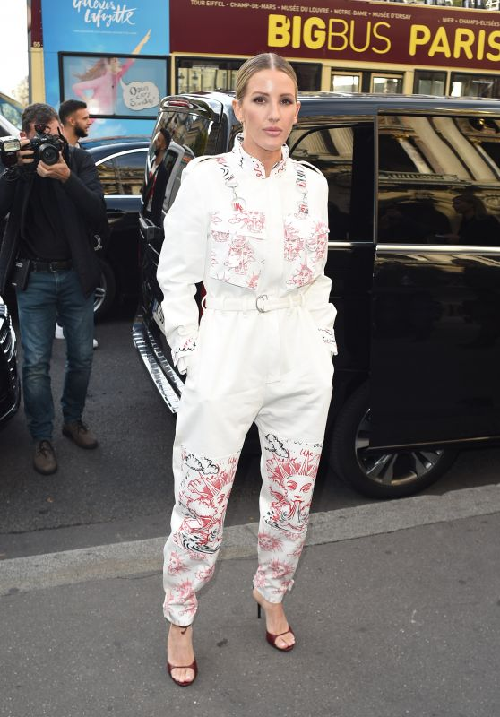 Ellie Goulding – Stella McCartney Show at Paris Fashion Week 09/30/2019