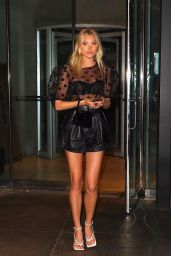 Elsa Hosk Night Out Style 09/11/2019