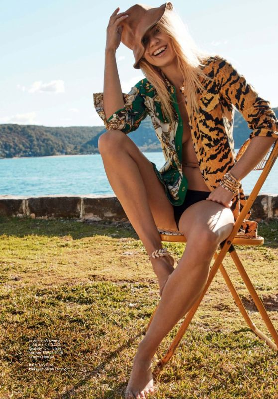 Elyse Knowles - InStyle Australia October 2019 Issue