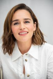 "Emilia Clarke - ""Last Christmas"" Press Conference in Beverly Hills"