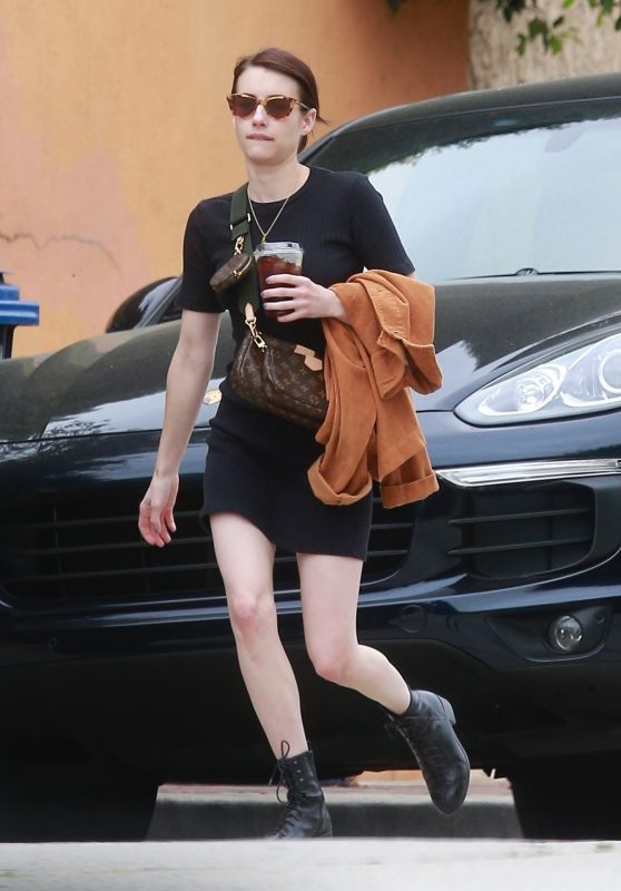 Emma Roberts - Out For Lunch in LA 09/27/2019
