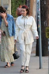 Emma Roberts - Out in Los Feliz 09/17/2019