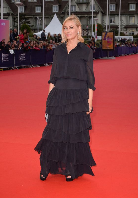 "Emmanuelle Beart – ""Music Of My Life"" Premiere at the 45th Deauville American Film Festival"