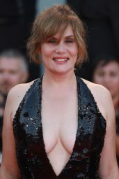 """Emmanuelle Seigner – """"An Officer and a Spy"""" Premiere at the 76th Venice Film Festival"""