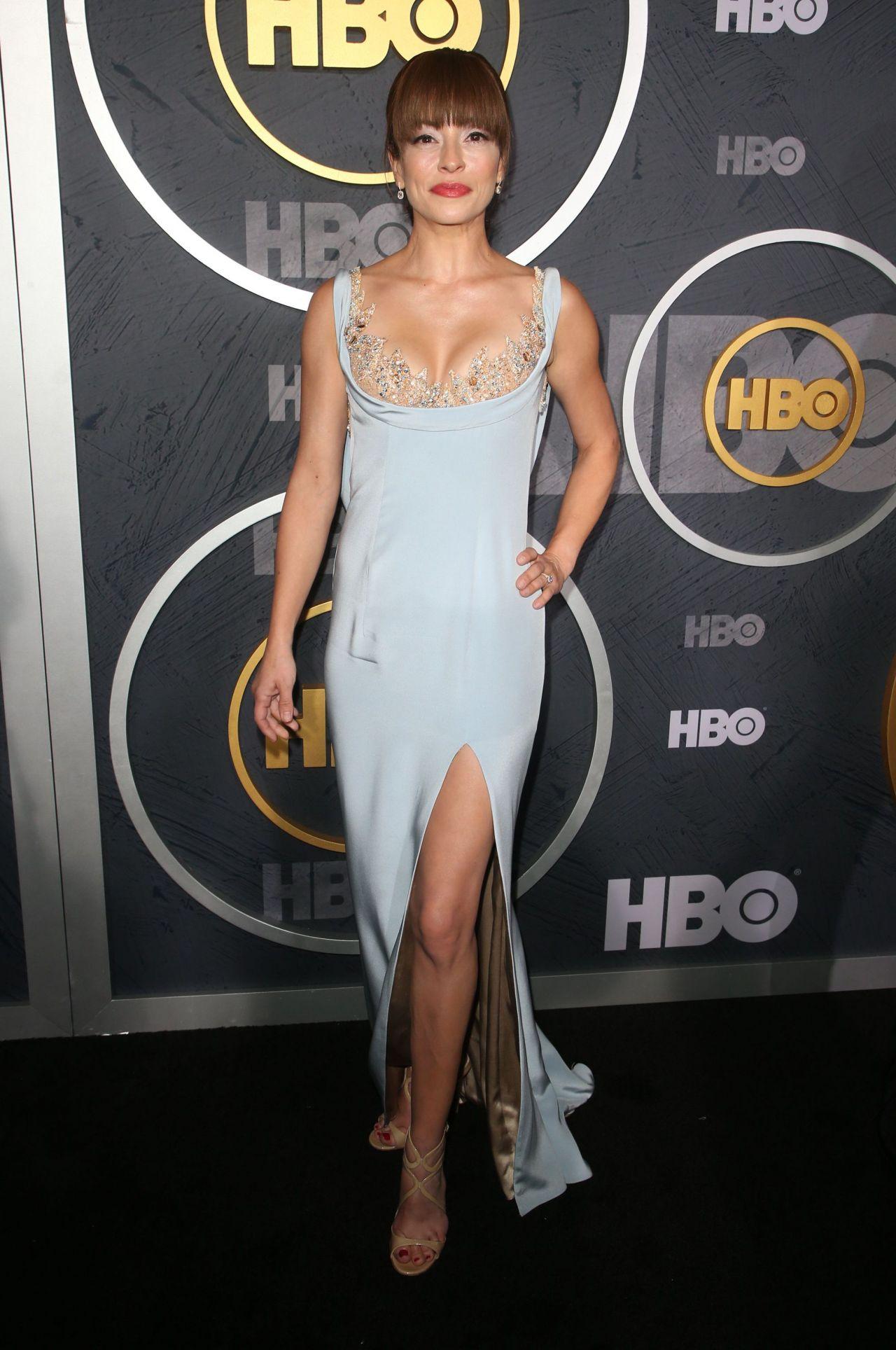 Emmanuelle Vaugier – HBO Primetime Emmy Awards 2019 Afterparty in LA •  CelebMafia