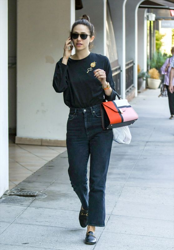 Emmy Rossum Casual Style 09/23/2019