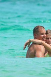 Eugenie Bouchard in a Bikini With Her New Beau Connor Davis in Miami 09/08/2019