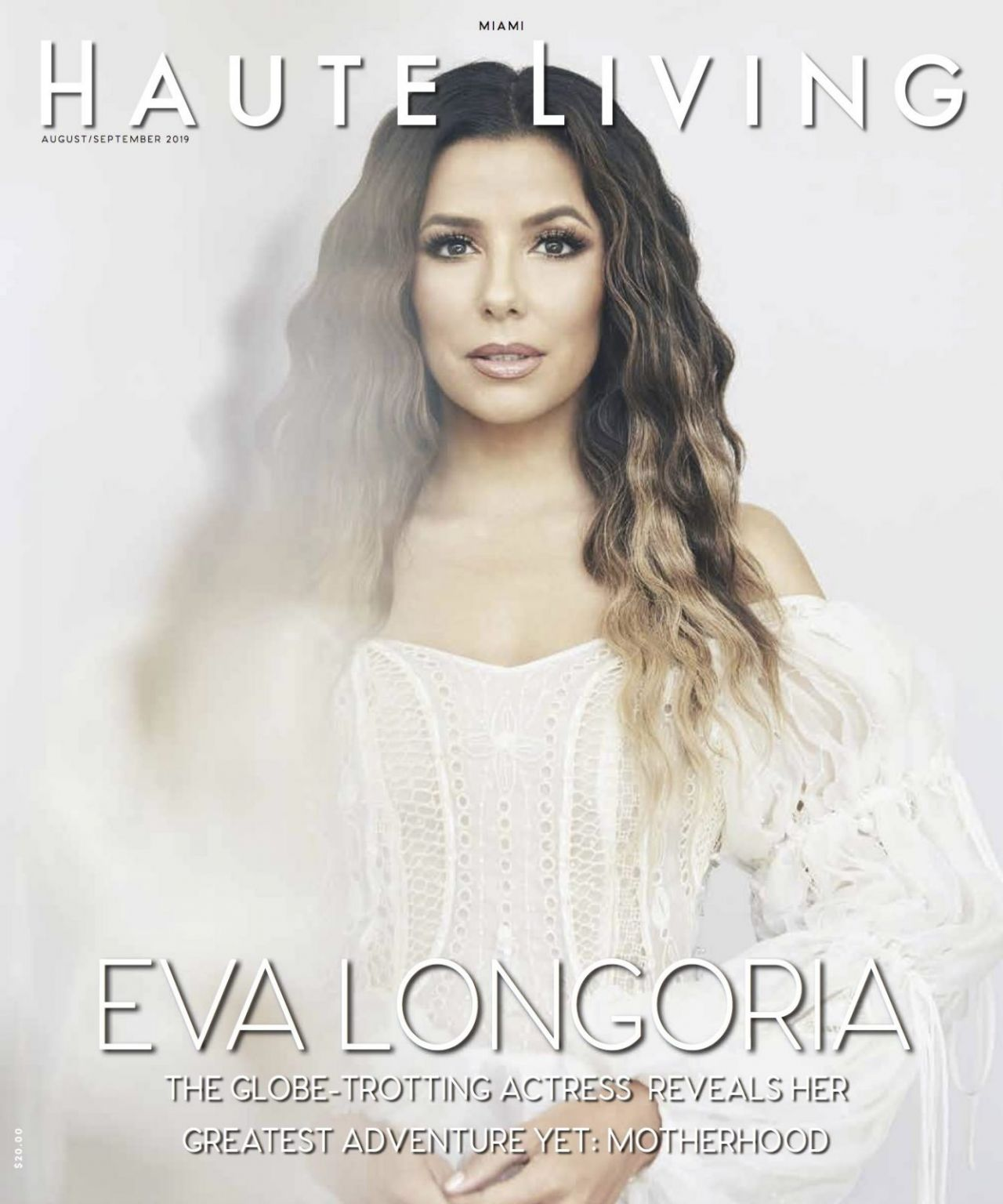 Eva Longoria gorgeous, sexy and straight beautiful in Haute Living magazine :) WOW