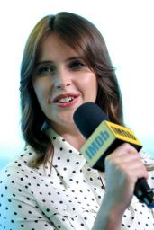 Felicity Jones - The IMDb Studio Presented By Intuit QuickBooks at Toronto Film Festival 2019 at Bisha Hotel & Residences 09/07/2019 - The IMDb Studio Presented By Intuit QuickBooks at Toronto Film Festival 2019