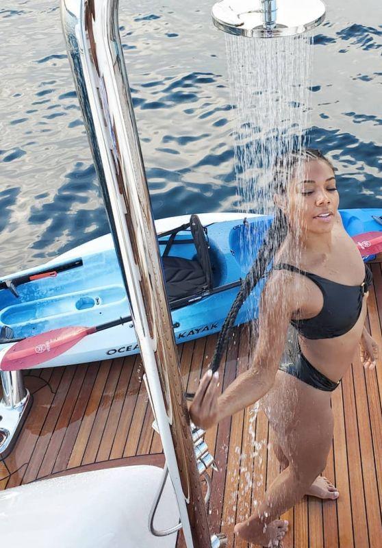 Gabrielle Union in a Bikini - Social Media 09/01/2019