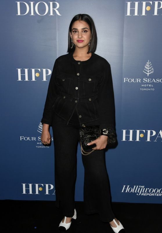 Geraldine Viswanathan – The HFPA and THR Party in Toronto 09/07/2019