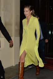 """Gigi Hadid - Heading to the """"Fenty"""" After Party in Paris 09/26/2019"""