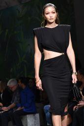 Gigi Hadid – Versace Fashion Show in Milan 09/20/2019