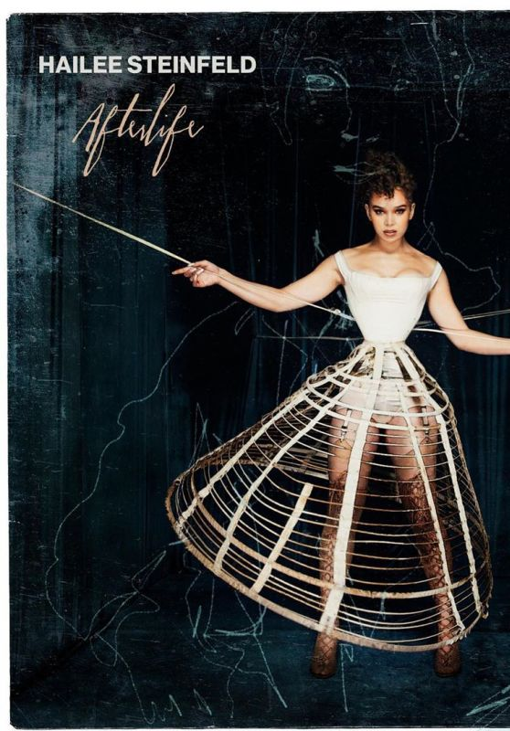 """Hailee Steinfeld - """"Afterlife"""" Promotional Material"""