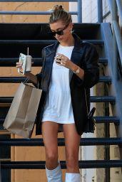 Hailey Rhode Bieber - Leaving a Business Meeting in Beverly Hills 09/17/2019