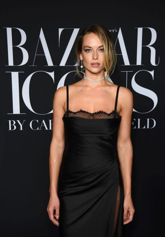 Hannah Ferguson – 2019 Harper's Bazaar ICONS Party in NY