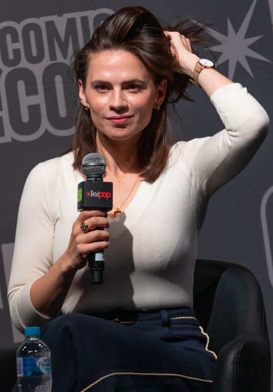 Hayley Atwell - Q&A at Oz Comic-Con in Sydney 09/28/2019