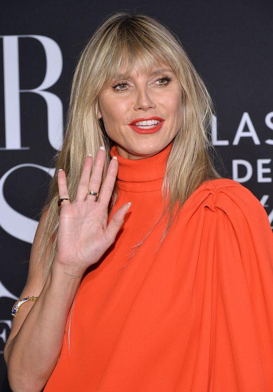 Heidi Klum – 2019 Harper's Bazaar ICONS Party in NY