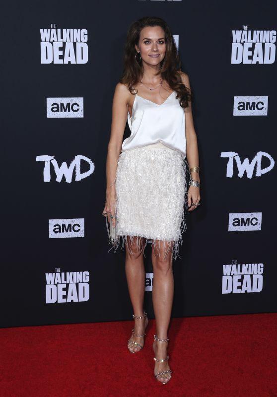 """Hilarie Burton – """"The Walking Dead"""" Season 10 Premiere in LA"""