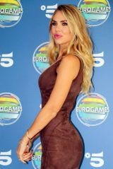 Ilary Blasi - Photocall TV Show Eurogames Canale 5 in Milano 09/16/2019