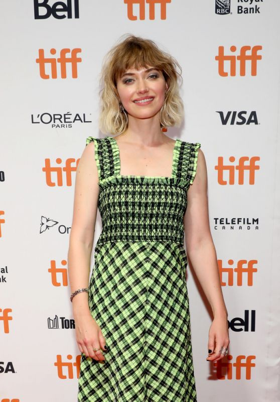 "Imogen Poots - ""Castle In The Ground"" Premiere at 2019 TIFF 09/05/2019"