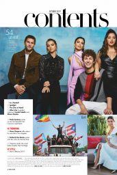 Isabela Moner, Marielena Dávila and Denise Bidot - Hola! Made in USA October 2019 Issue