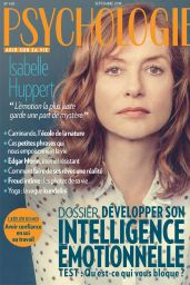 Isabelle Huppert - Psychologies France September 2019 Issue