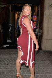 Iskra Lawrence Night Out Style 09/27/2019