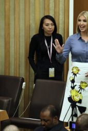 Ivanka Trump - Meeting at United Nations Headquarters in New York 09/23/2019
