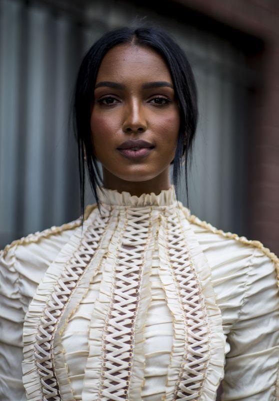 Jasmine Tookes - NYFW Photoshoot September 2019