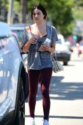 Jenna Dewan in Tights - Leaves Gym in LA 09/11/2019