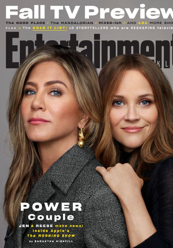 Jennifer Aniston and Reese Witherspoon - Entertainment Weekly Magazine October 2019 Issue
