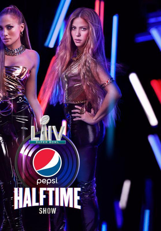 Jennifer Lopez and Shakira - NFL Super Bowl LIV Promo Photos