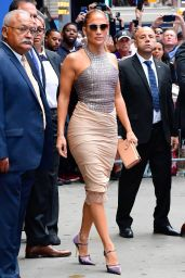 Jennifer Lopez - Leaving GMA in NYC 09/10/2019