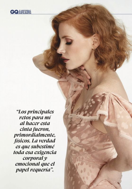 Jessica Chastain - GQ Latin América September 2019 Issue