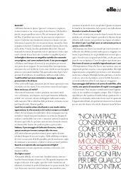 Juliette Binoche - ELLE Magazine Italy 10/05/2019 Issue