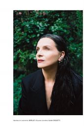 Juliette Binoche - Numero Magazine France October 2019 Issue