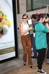 Kaia Gerber - Leaving Longchamp Show in NYC 09/07/2019